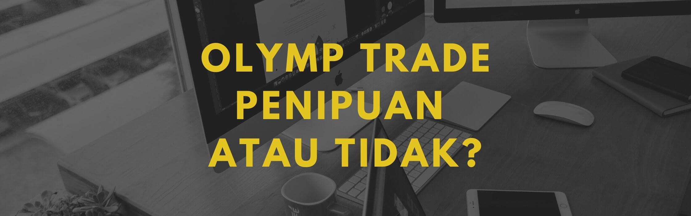 olymp trade penipuan