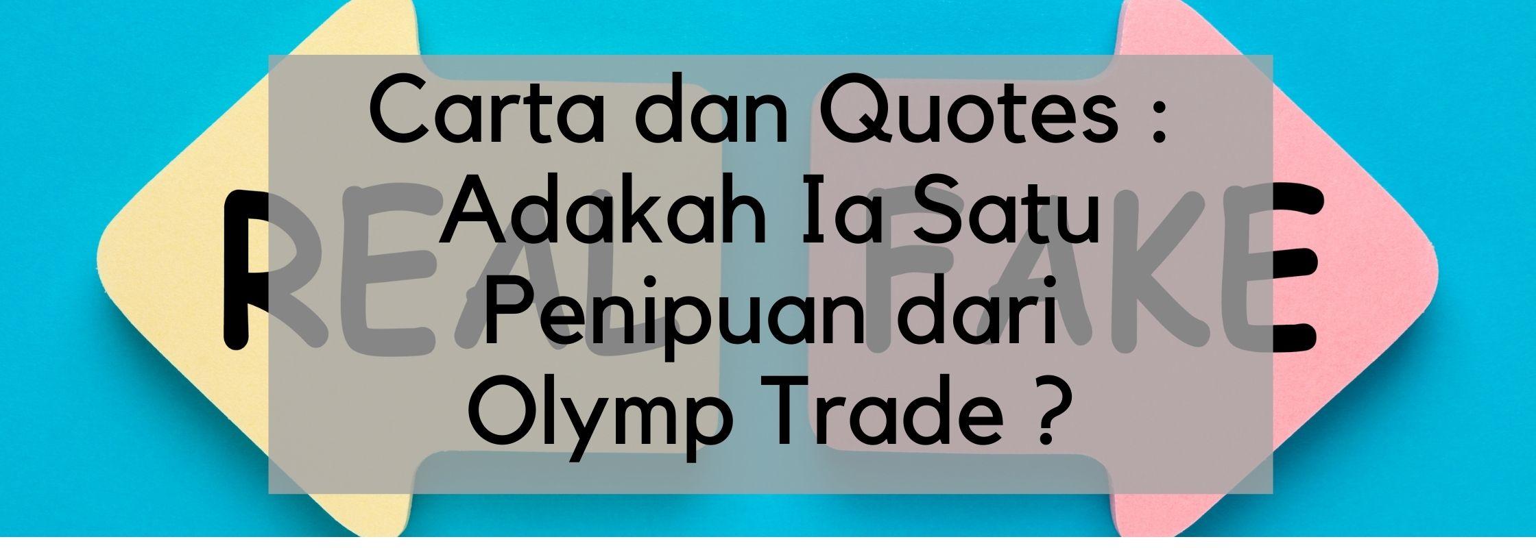 Olymp Trade Penipu